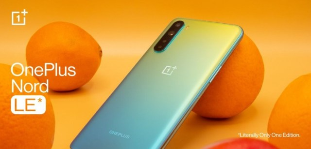 OnePlus Nord LE announced - a smartphone you can't buy