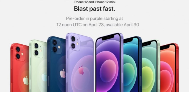 Pre-orders for the purple iPhone 12 and 12 mini, as well as the AirTags are now live