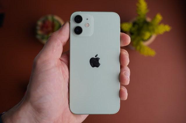 test iphone 12 mini design dos