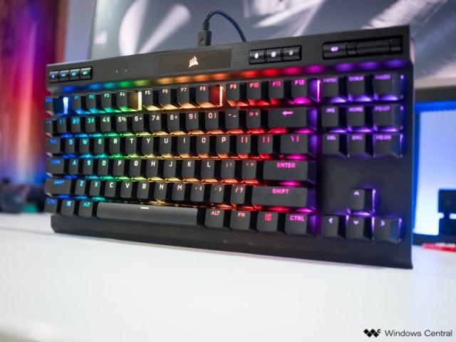 Corsair K70 RGB TKL gaming keyboard review