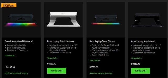 Razer Laptop Stand Chroma Store