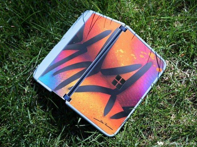 Surface Duo Dbrand Artist