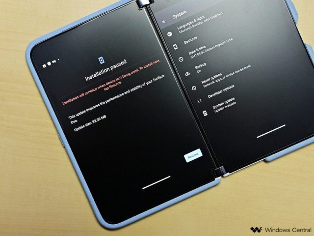 Surface Duo March2021 Update