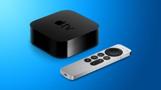 apple tv 4k design blue