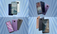 Nokia G20 and G10 unveiled with large batteries, Android Go-powered Nokia C20 and C10 join in