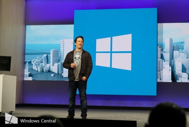 Phil Spencer at Build