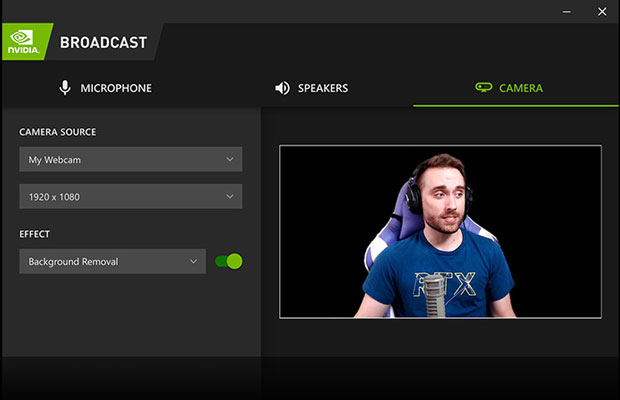 Logiciel de streaming BROADCAST de Nvidia