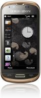 Samsung B7620 Giorgio Armani asked ''Can Windows Mobile be fashionable''?