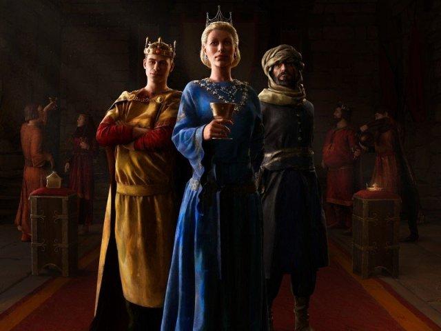 Crusader Kings 3 Royal Court Key Art