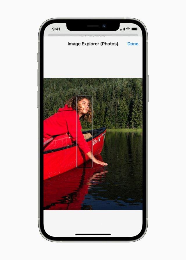 VoiceOver peut désormais décrire chaque élément de votre photo