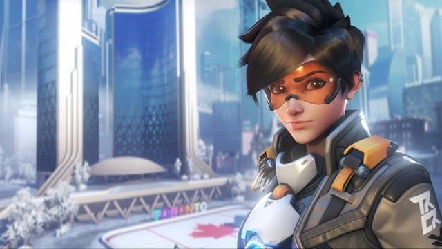 Tracer in Overwatch 2.