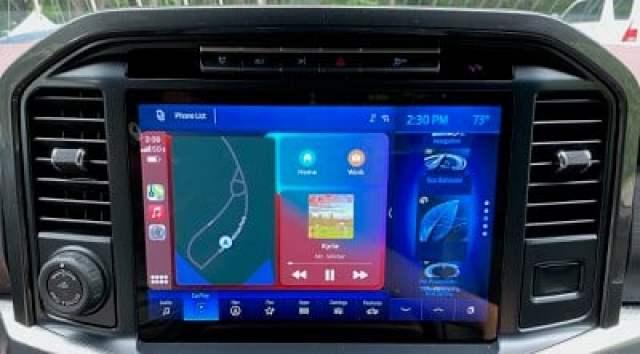 2021 ford f150 split screen