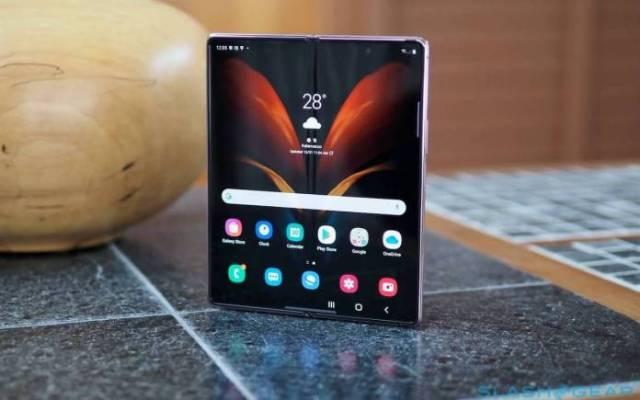 SAMSUNG Galaxy Z Fold No Physical Buttons