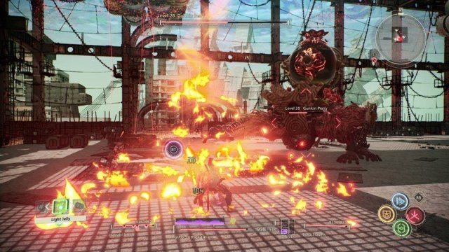 Scarlet Nexus Boss Battle