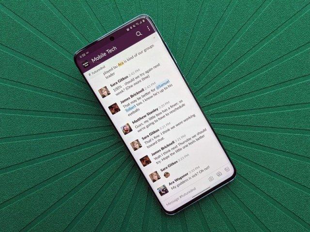 Galaxy S20 Review Slack Greenmat Dnd
