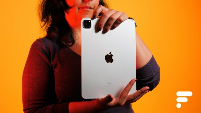 Le module appareil photo de l'iPad Pro 11pouces2021