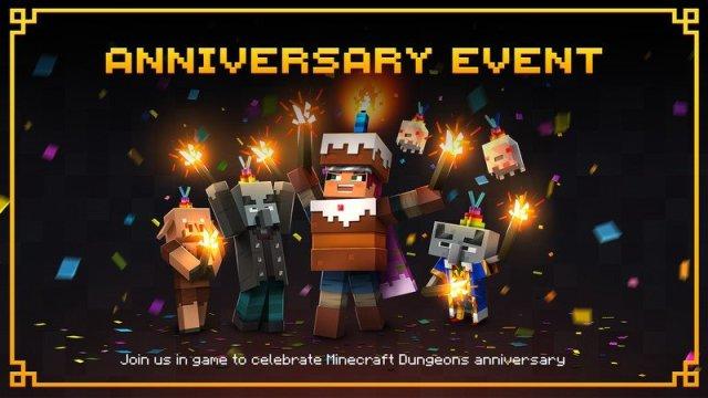 Minecraft Dungeons Anniversary Event