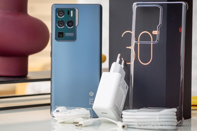 ZTE Axon 30 Ultra 5G in for review