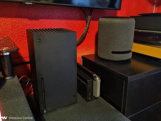 Xbox Series X Amazon Echo