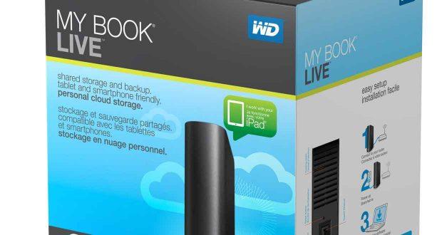 Disque dur externe My Book Live de Western Digital