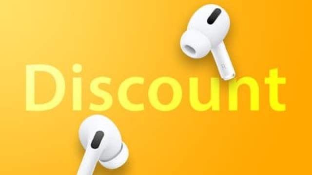 AirPods Pro Discount Feature Yellow