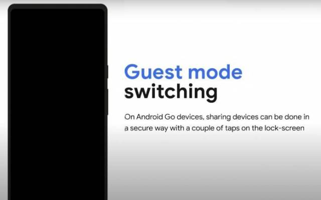 Android Go Guest Mode Switching
