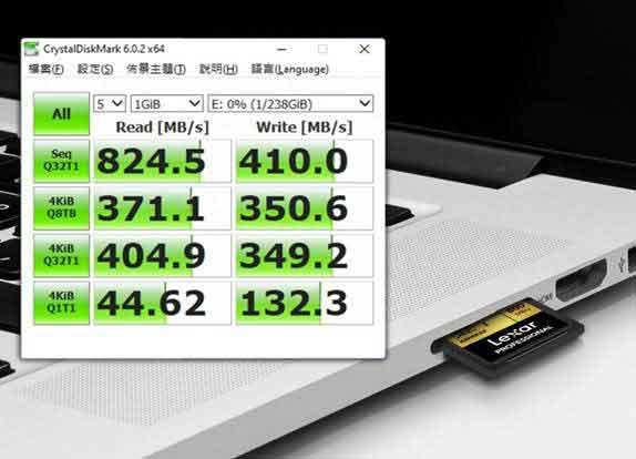Carte SD Express 512 Go de Lexar