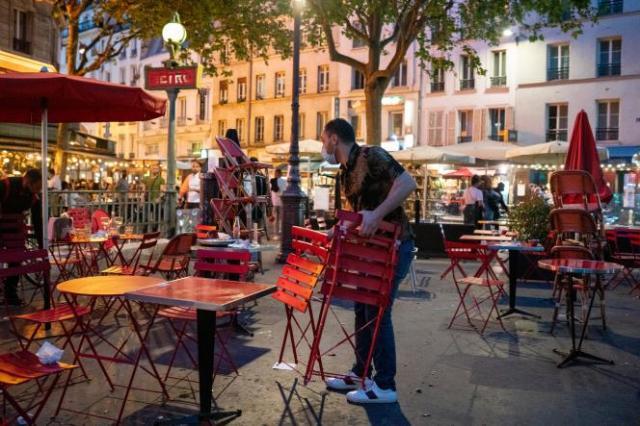 Place de la Bastille, à Paris, le 9 juin 2021.