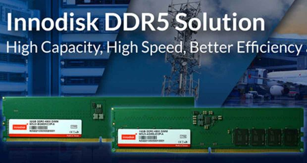 Barrette mémoire DDR5 d'Innodisk