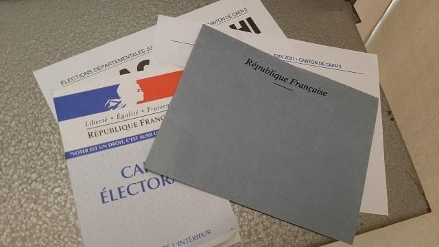 A l'issue du premier tour des élections départementales dans le Calvados, aucun des 172 candidats en lice n'a été élu.
