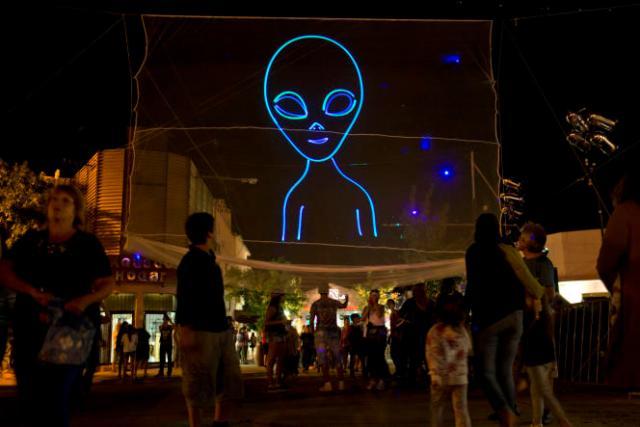 Le festival des extraterrestres à Capilla del Monte, en Argentine, le 13 février 2016.