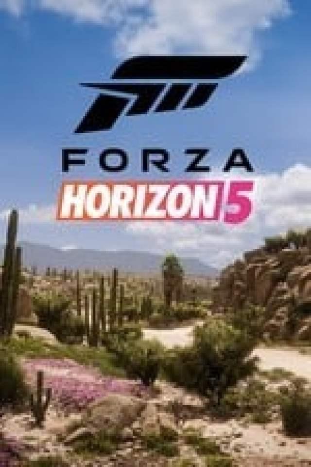 Forza Horizon 5 Box Art