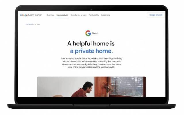 Google Nest Privacy Security Update