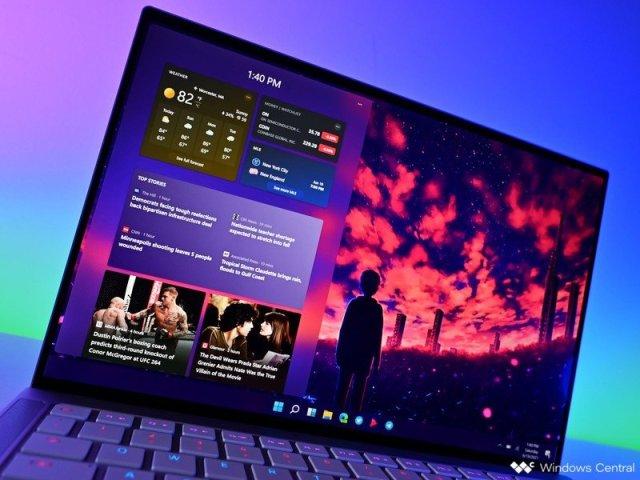 Windows 11 Widget2 Razerbook
