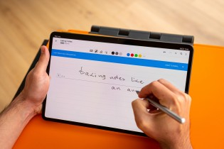 Using both accessories with the MatePad Pro