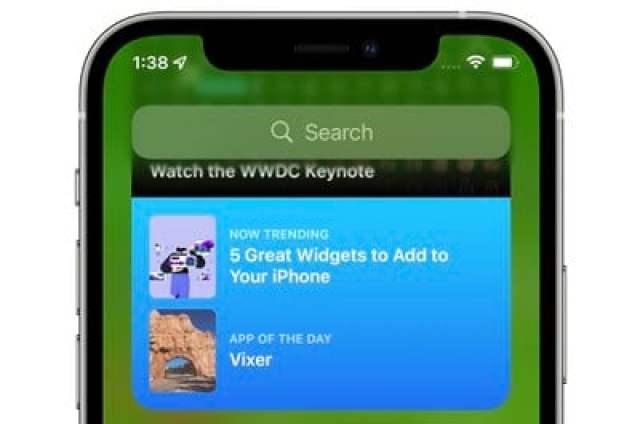 app store widget