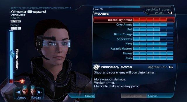 Mass Effect 3 Level Up