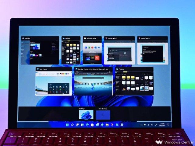Windows 11 Taskview 1 Surfacepro