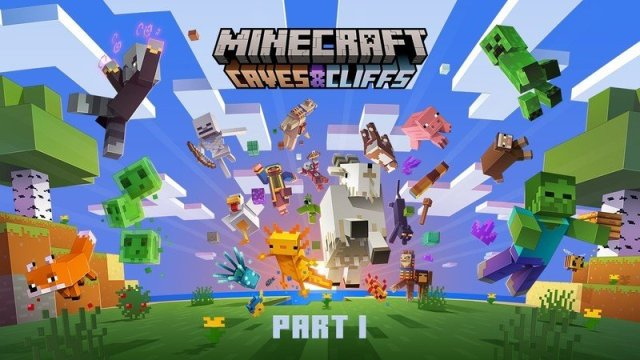 Minecraft Caves and Cliffs Update Part One Hero