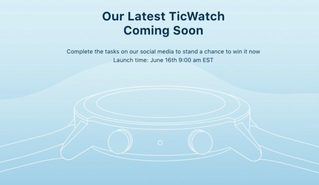 Mobvoi TicWatch E3 Launch