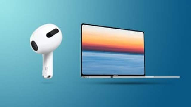 AirPod 3 and Flat MacBook Pro Feature