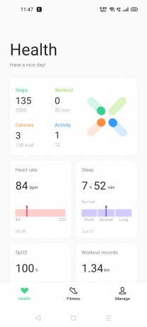 HeyTap Health app for Android