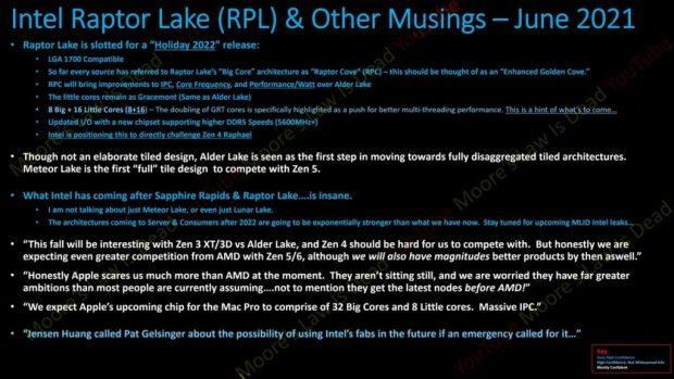 Rocket Lake – Documents Intel