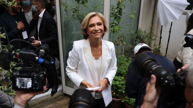 Valérie Pécresse, présidente de l'Ile-de-France, le 27 juin 2021 à Paris. (THOMAS COEX / AFP)