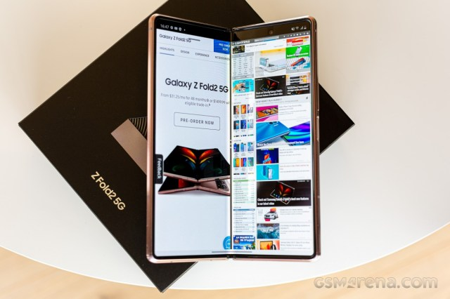 Samsung stops selling the Galaxy Z Fold2 in the US