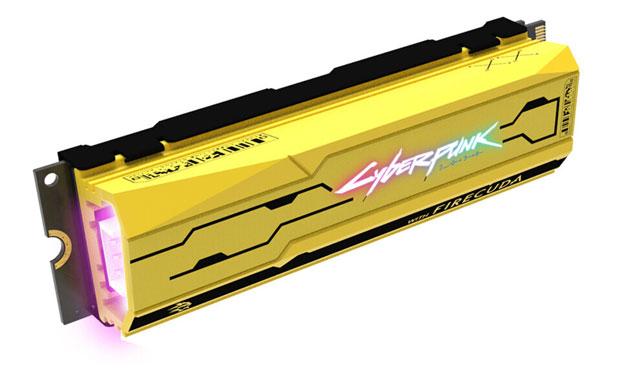 SSD FireCuda 520 Cyberpunk 2077 Edition
