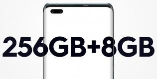 8/256 GB memory configuration
