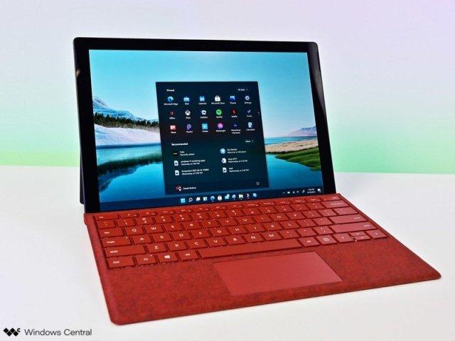 Windows 11 Start Surfacepro