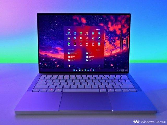 Windows 11 Start Laptop Razerbook