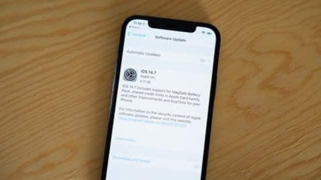 apple releases ios 14 7